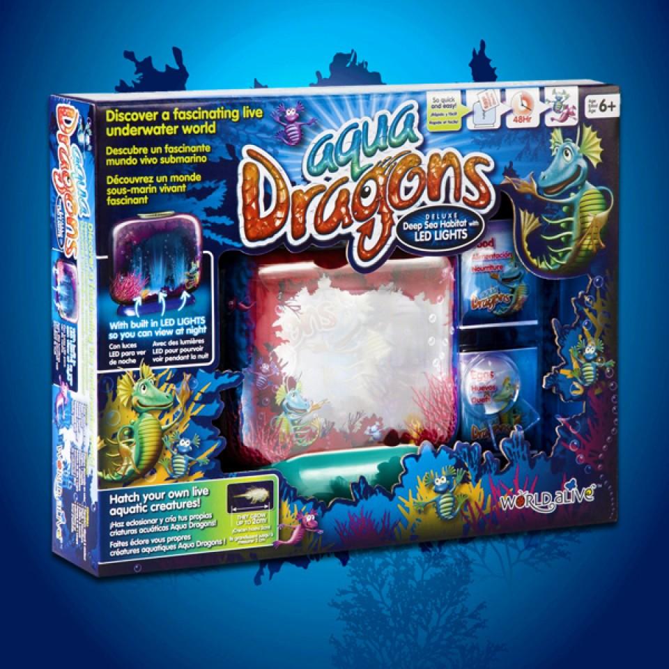 Habitat Aqua Dragons with LED Lights