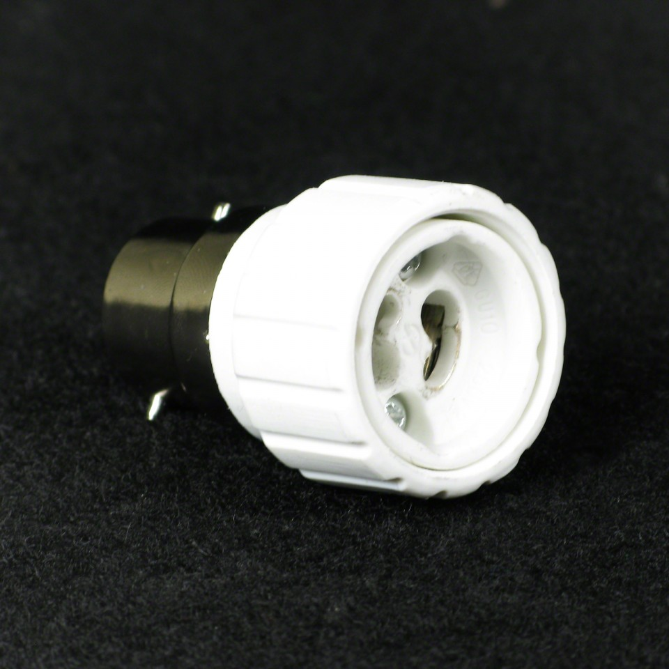 B22 to GU10 Bulb Socket Converter (401.091)