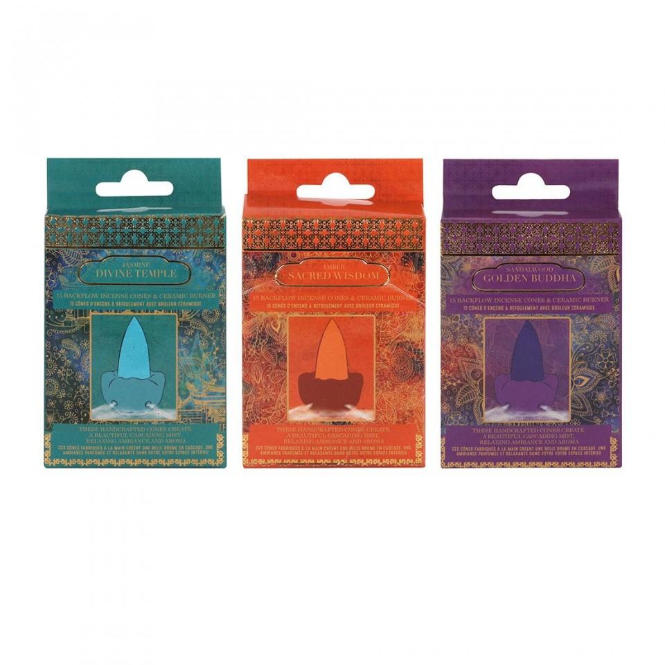Buddha Backflow Incense Cones