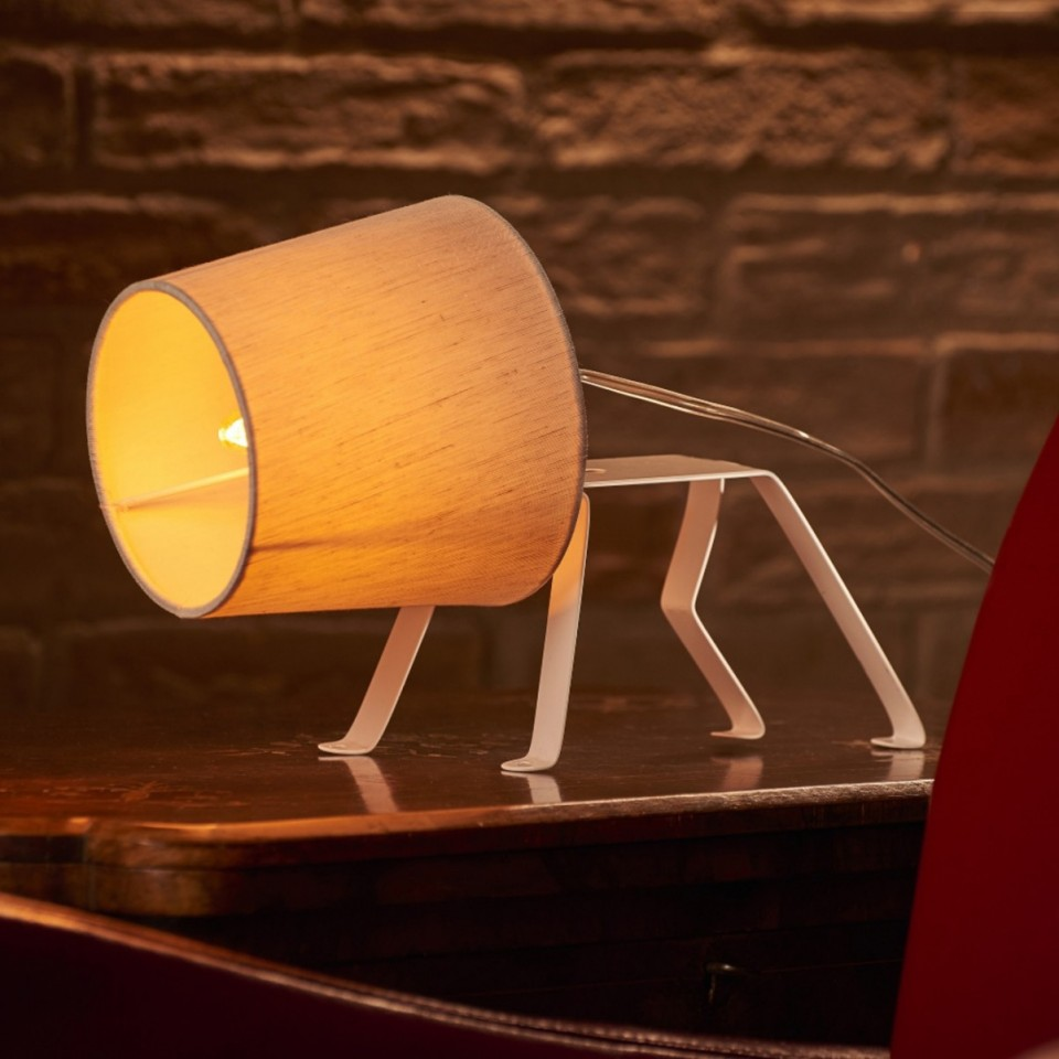 The Bailey Dog Frame Table Lamp