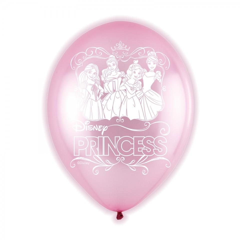 Disney Princess Light Up Balloons - 5 pack
