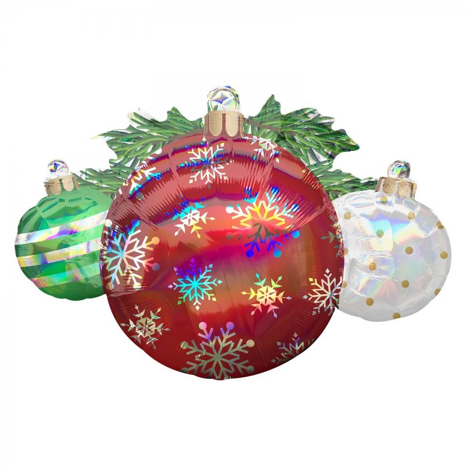 Super Shape 88cm Christmas Ornaments Balloon