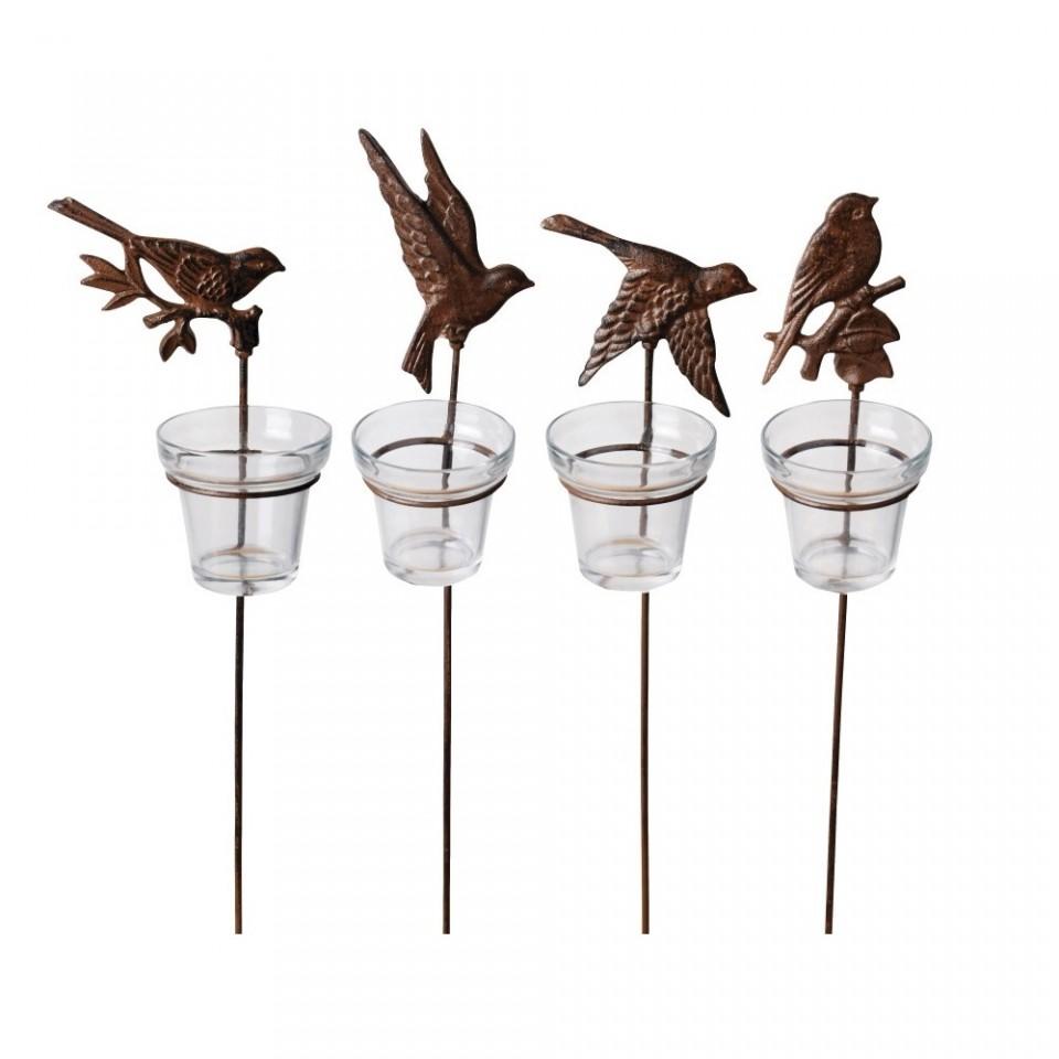 Cast Iron Garden Light Birds WL33- Single