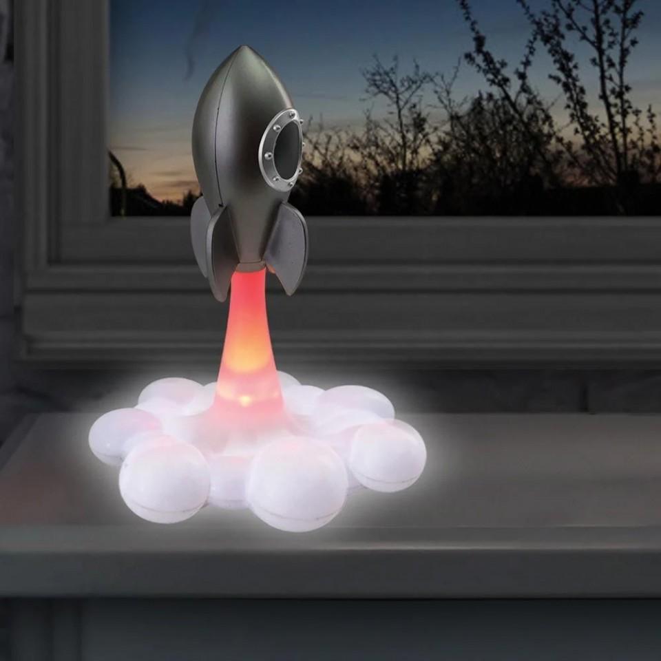 Blast Off Rocket Lamp