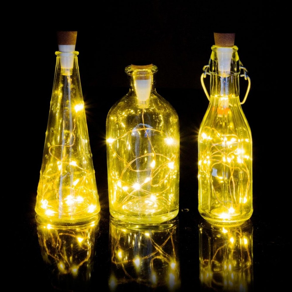Bottle Fairy Lights - Suck UK