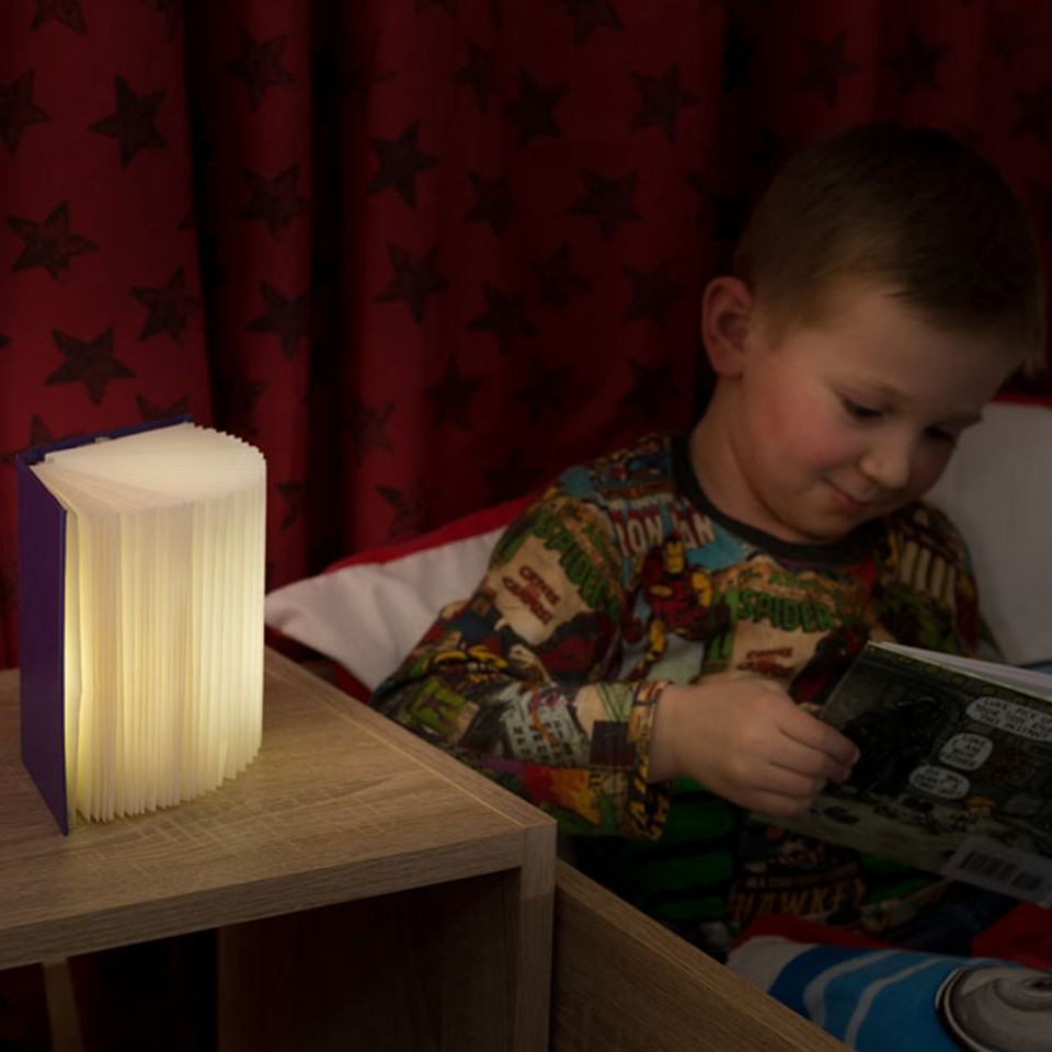Bright Book Night Light