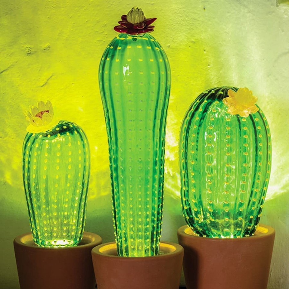 Seletti Desert Sunrise Cactus Lamp