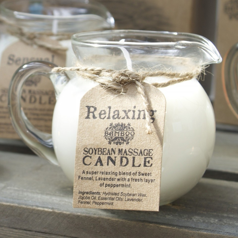 Soybean Massage Candles
