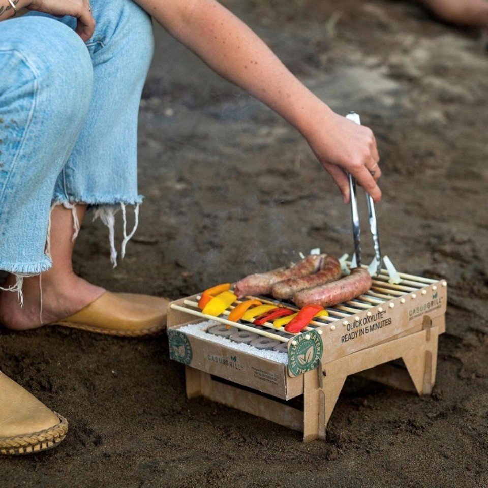 Biodegradable Bamboo Instant BBQ