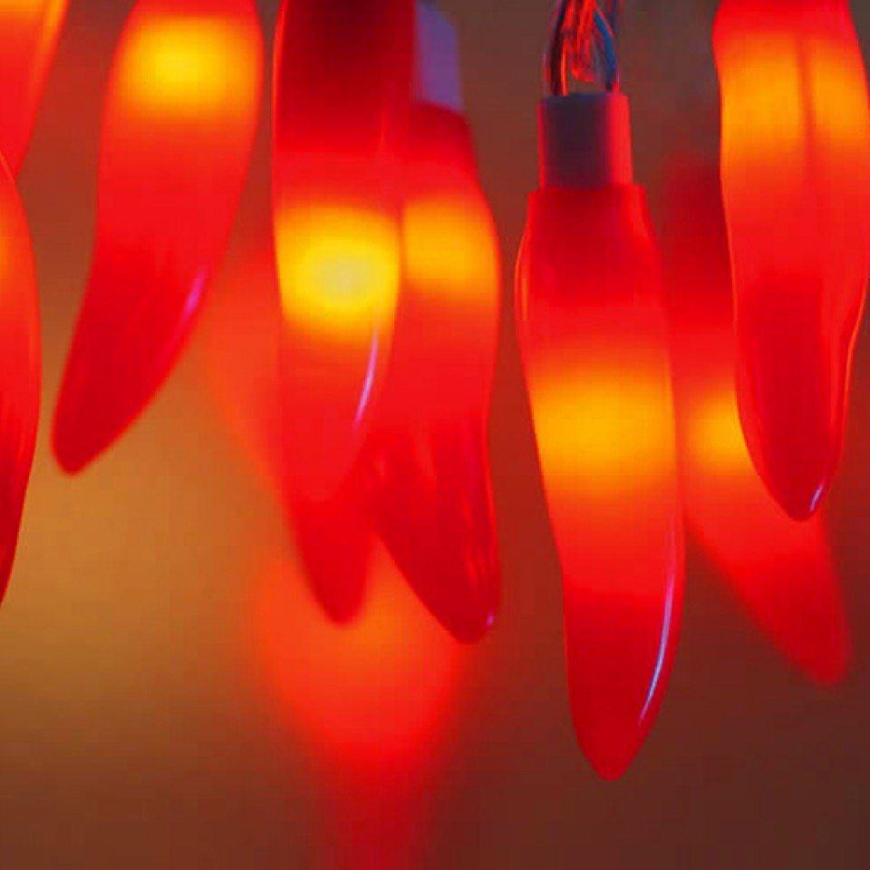 Red Chilli Fairy Lights