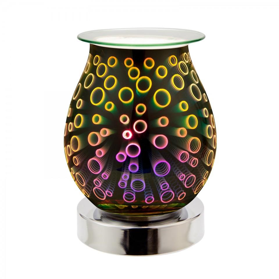 Circles 3D Freestanding Touch Control Oil/Wax Melt Warmer
