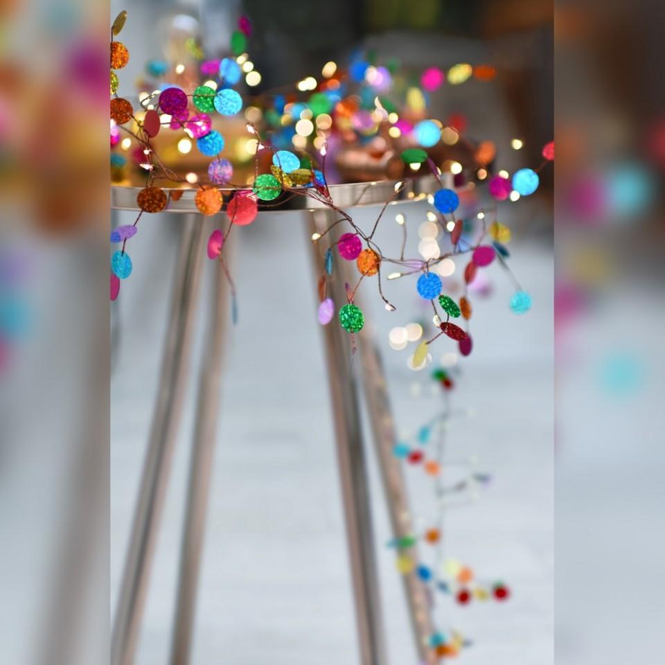 Confetti String Lights