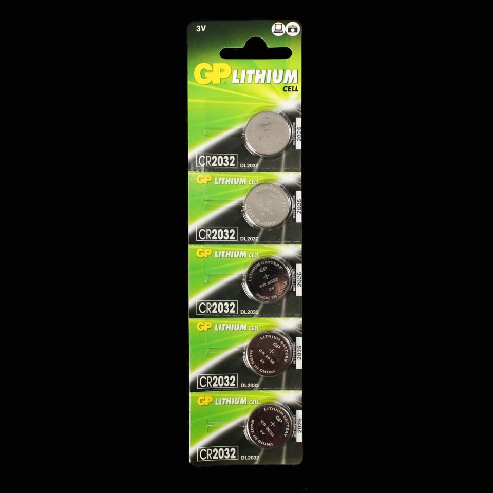 CR2032 Batteries (5 Pack)