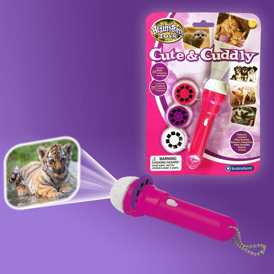 Cute & Cuddly Torch & Projector