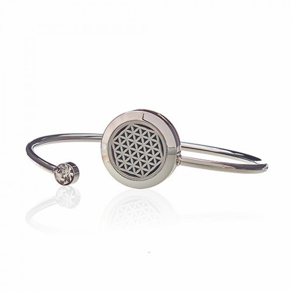 Diffuser Bangle - Flower of Life (23)