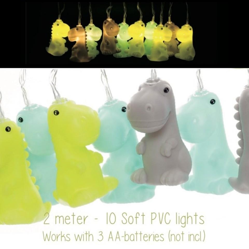 Dinosaur Fairy Lights