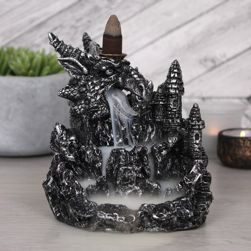 Silver Dragon LED Backflow Burner