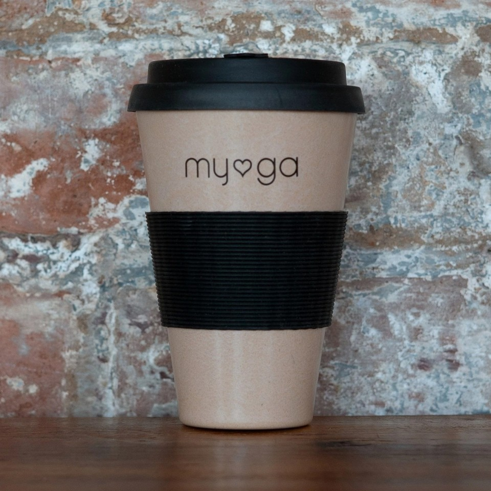 Eco Bamboo Travel Coffee Mug