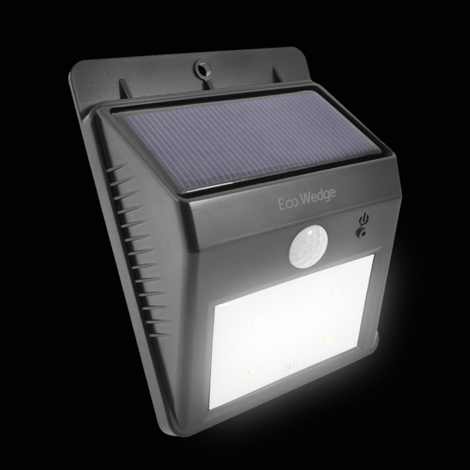 Eco Wedge Solar Motion Light