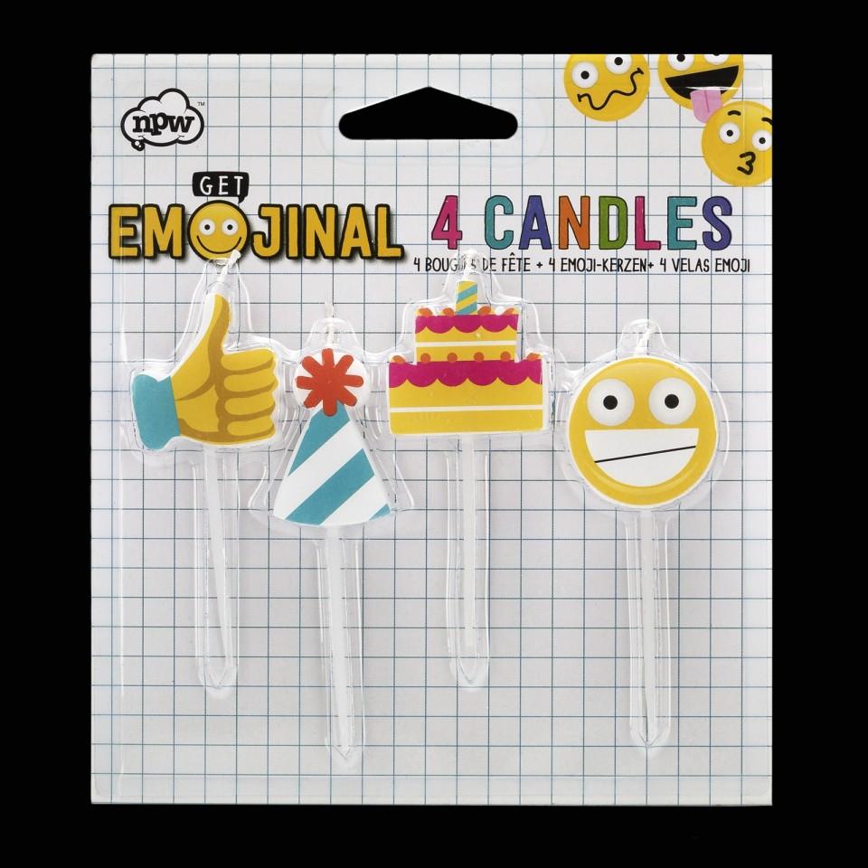 Emoji Birthday Candles