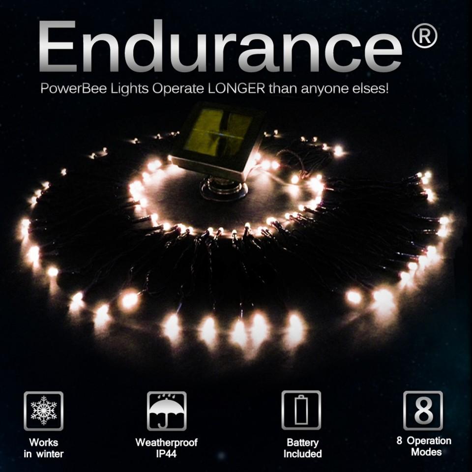 Endurance Solar 100 Fairy Lights