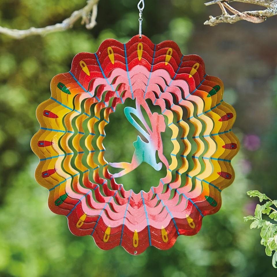 Fairy Rainbow Wind Spinner