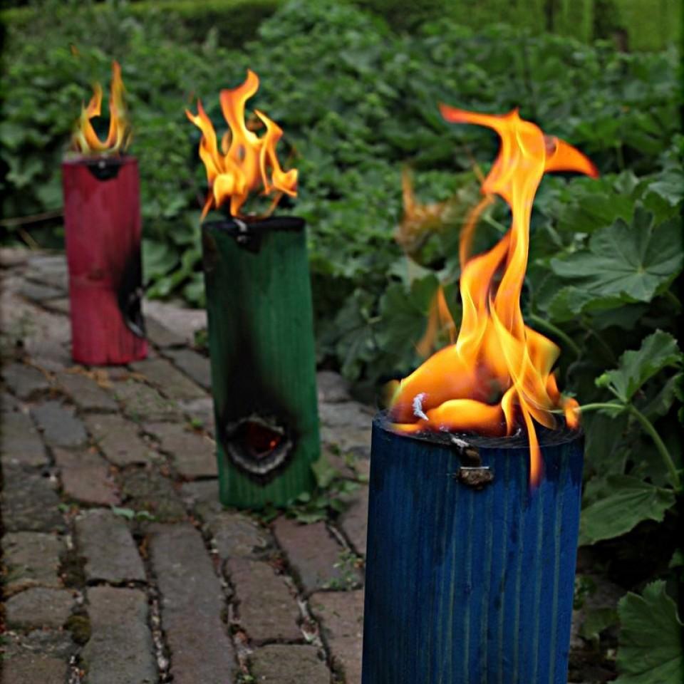 Finnish Fire Torch (4 Assorted)