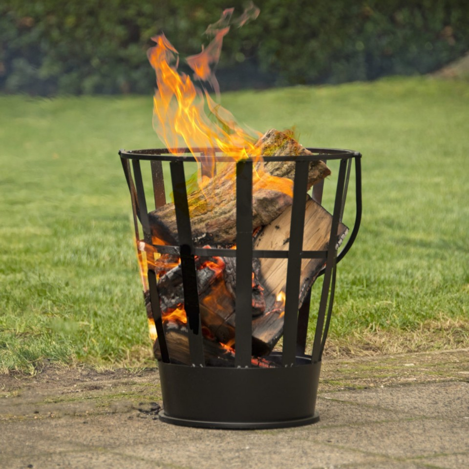 Fire Basket with Handle FF46