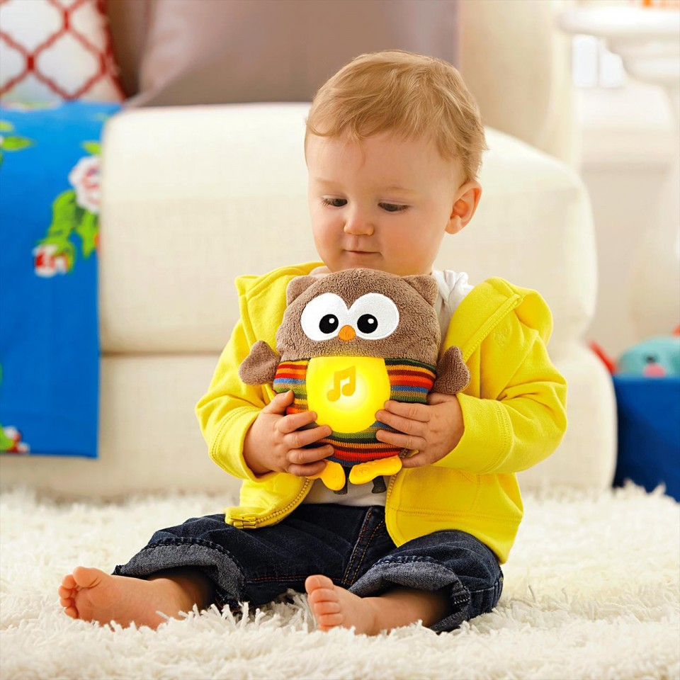 Fisher Price Soothe & Glow Owl