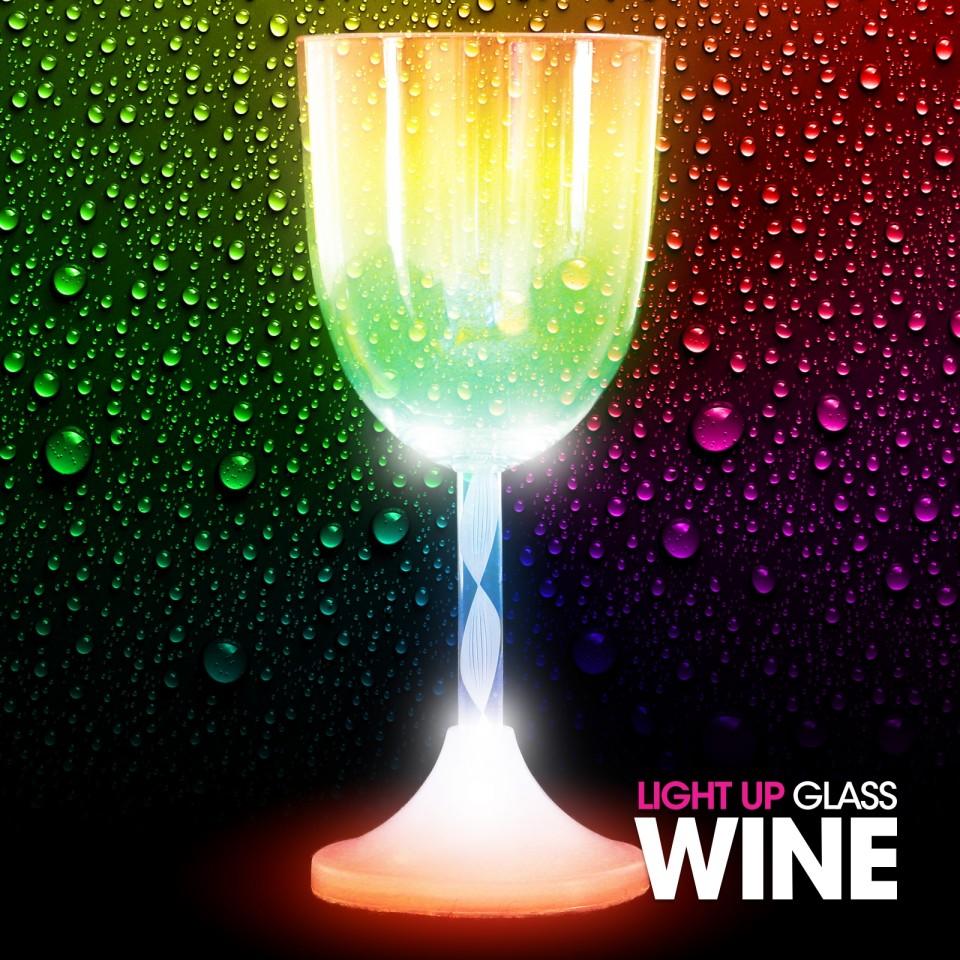 Light Up Wine Glass