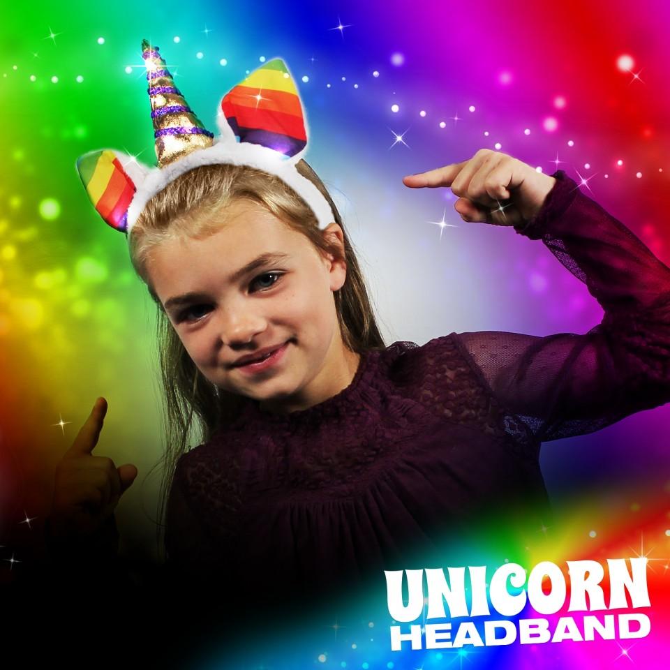 Light Up Unicorn Headband