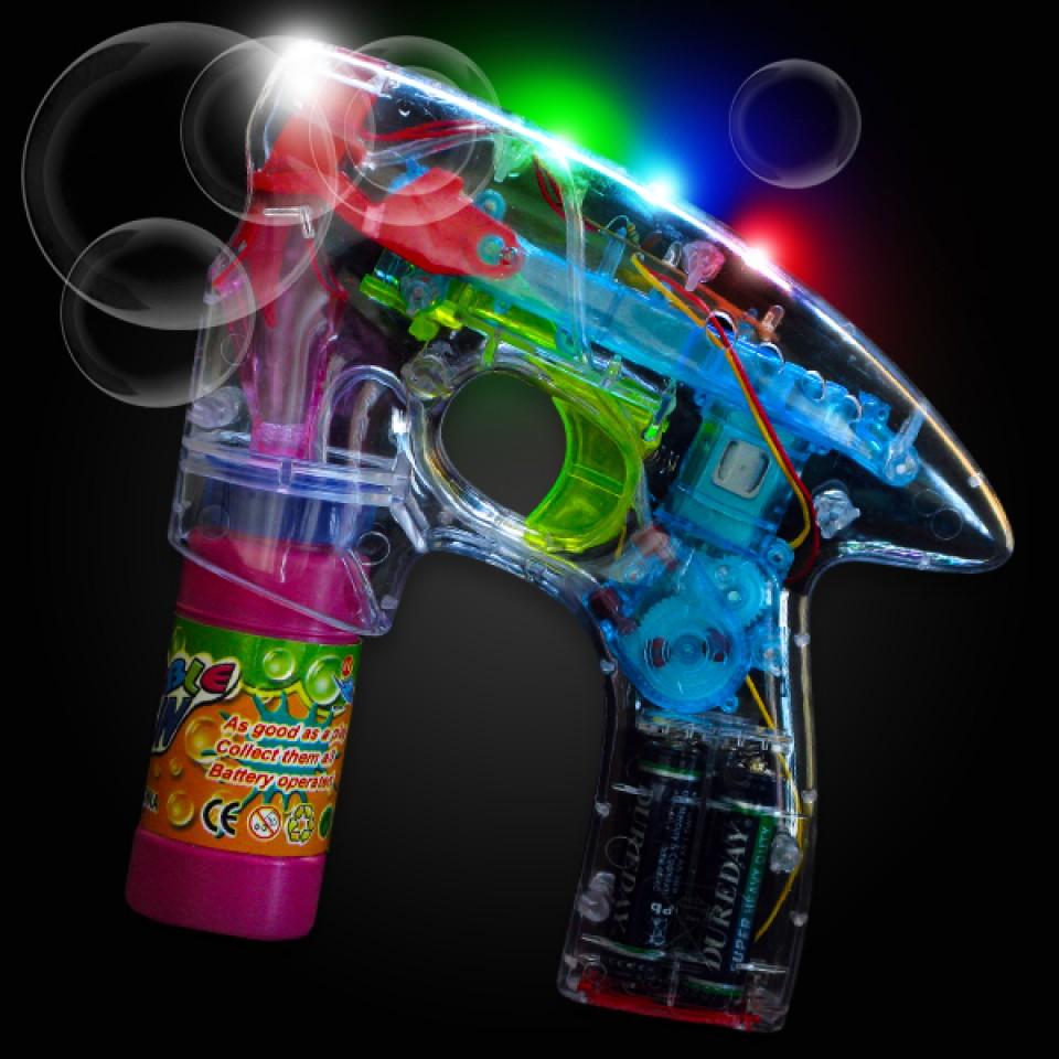 Flashing Bubble Gun Wholesale