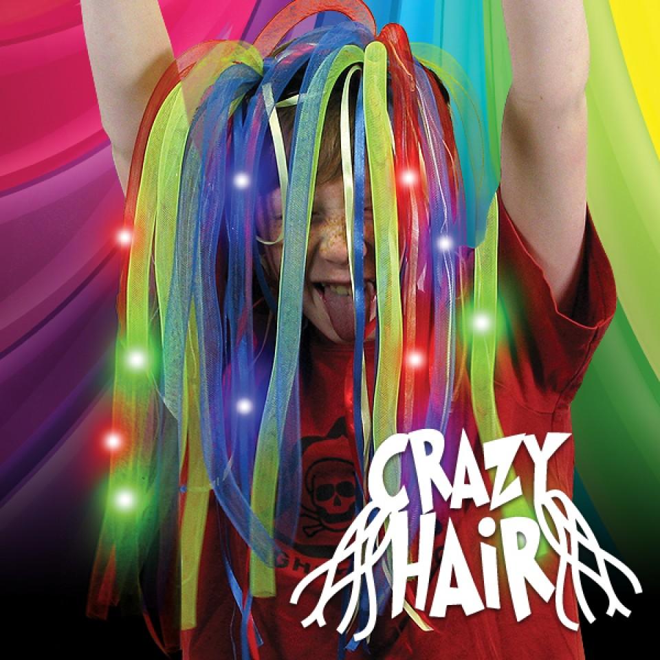 Light Up Crazy Hair