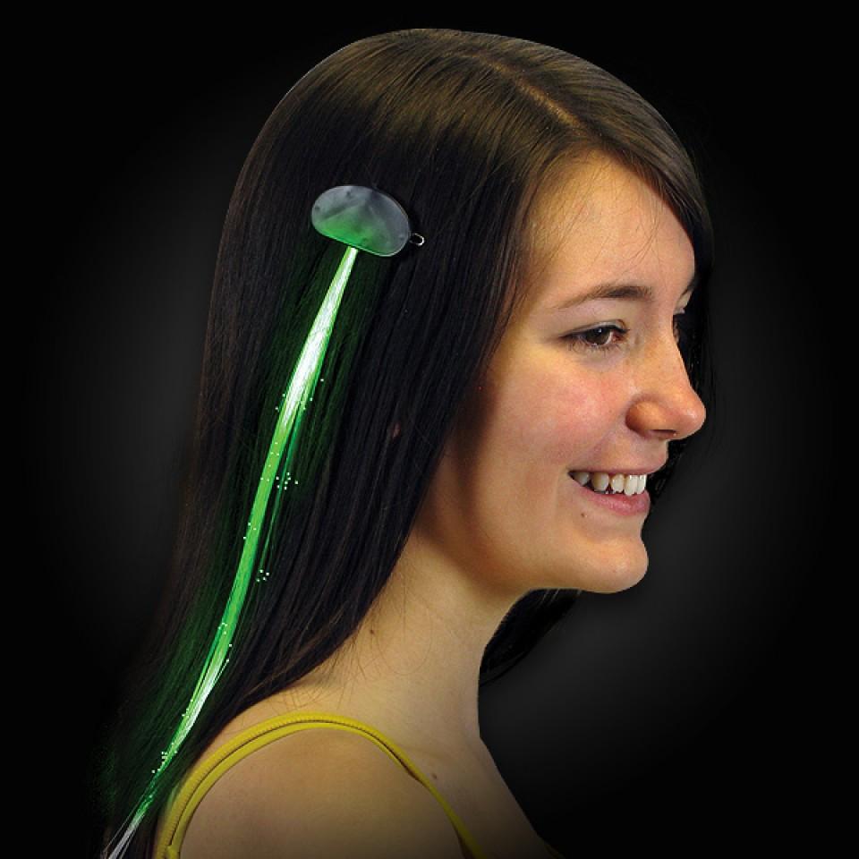 Fibre-optic Hair