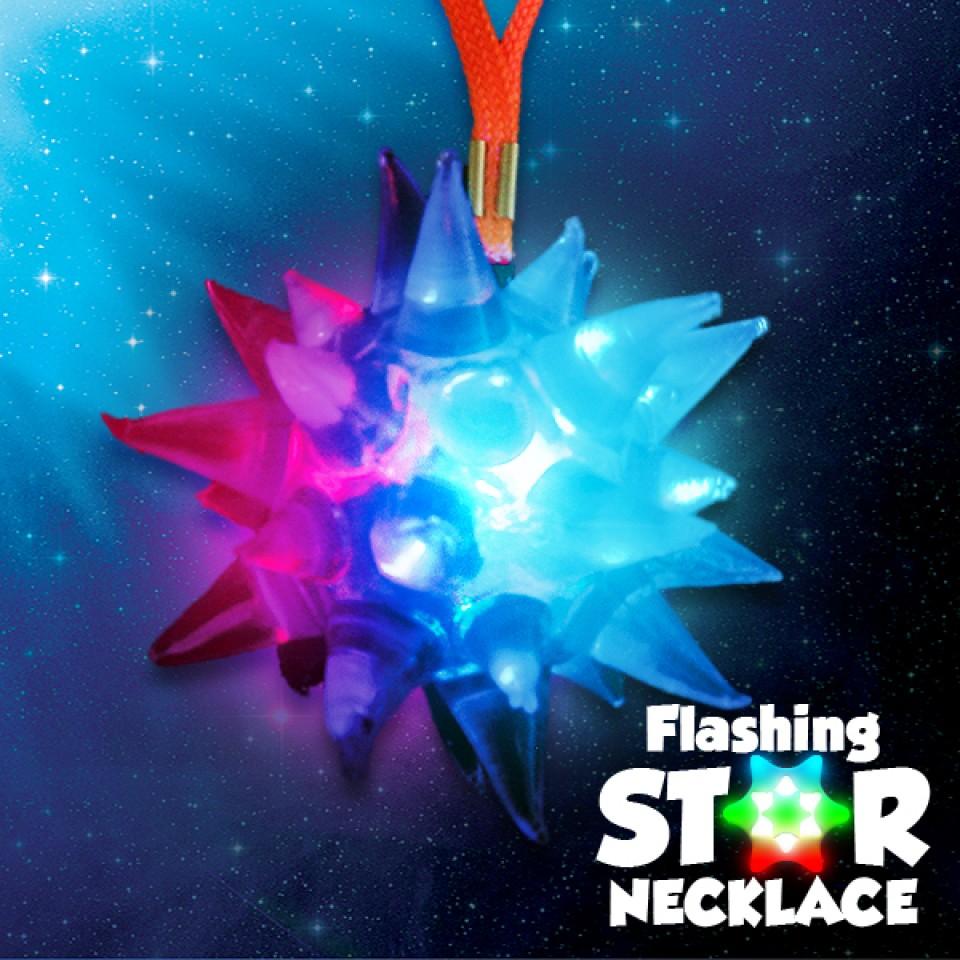 Flashing Crystal Star Wholesale