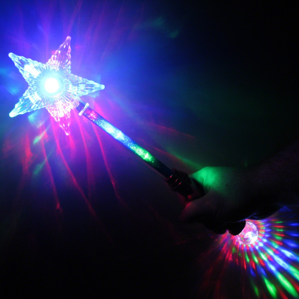Light Up Star Wand