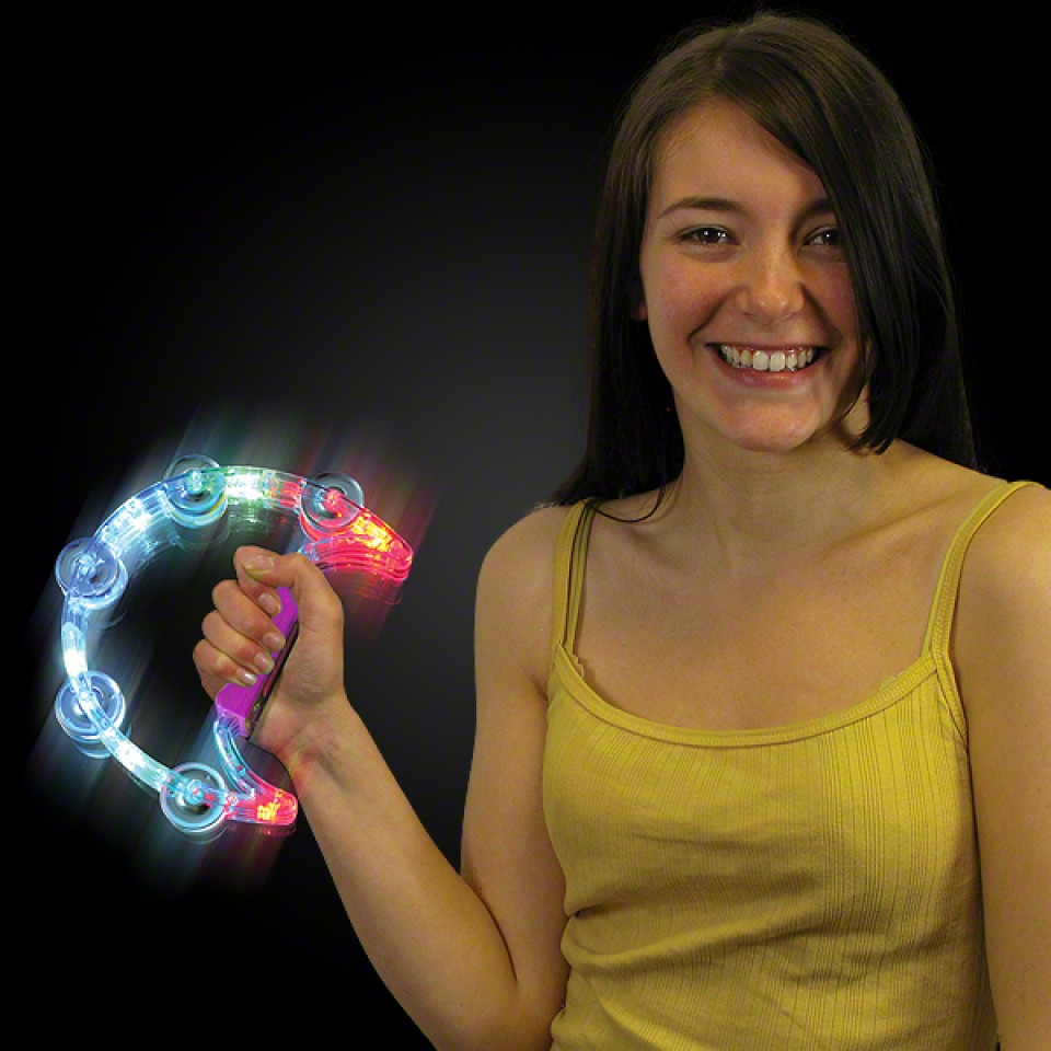 Light Up Tambourine
