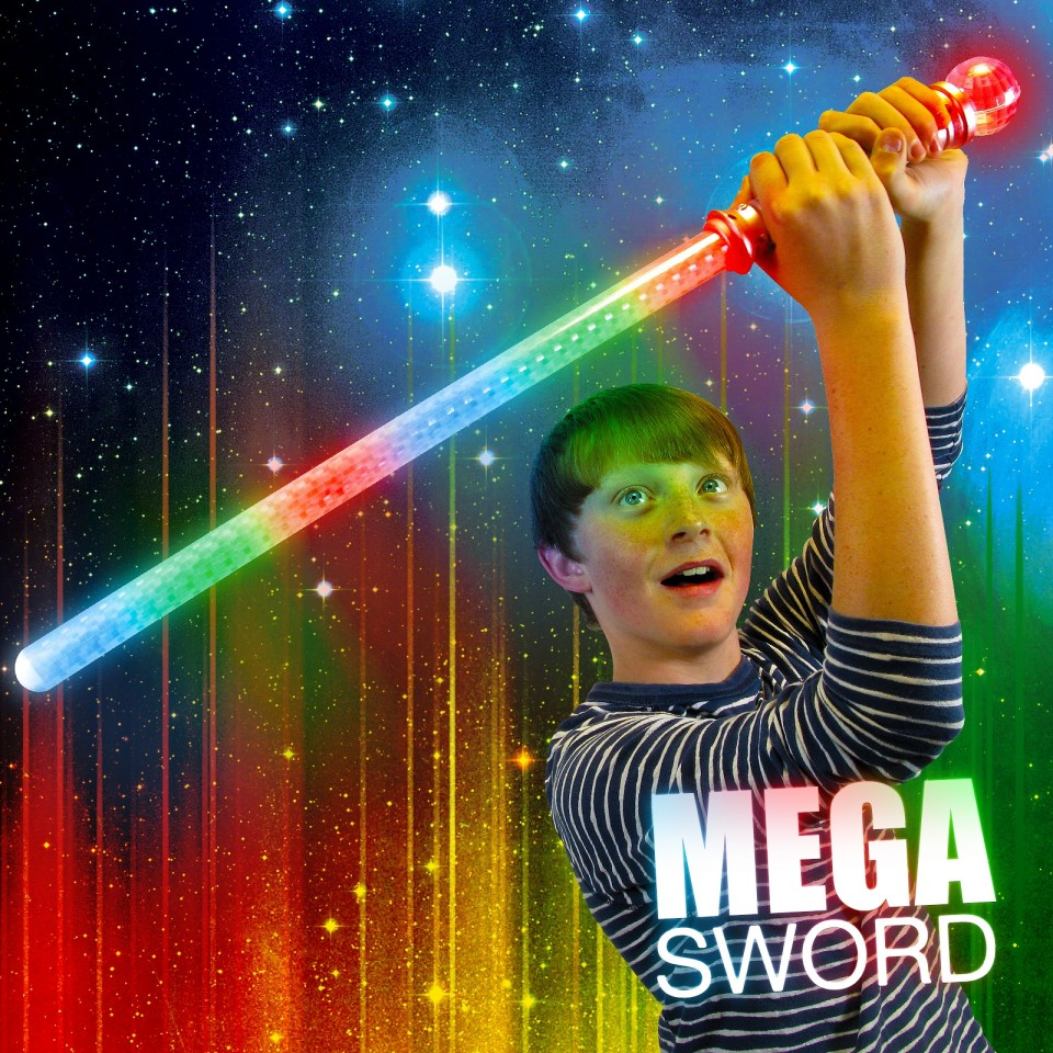 Flashing Mega Sword Wholesale