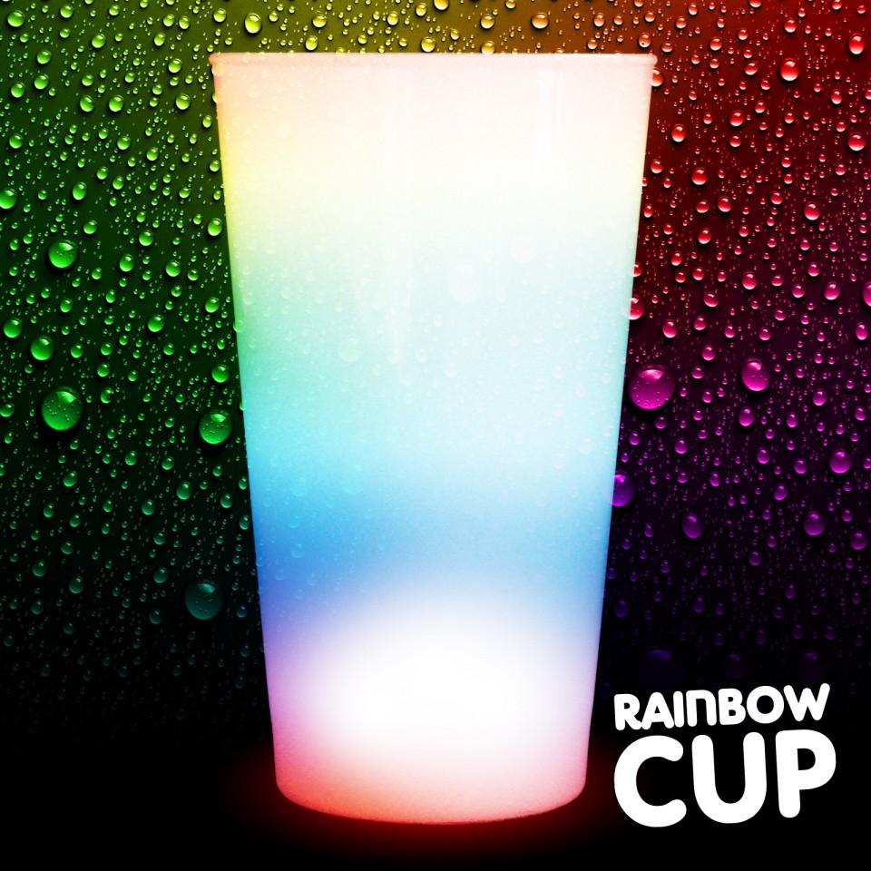 Flashing Rainbow Cups Wholesale