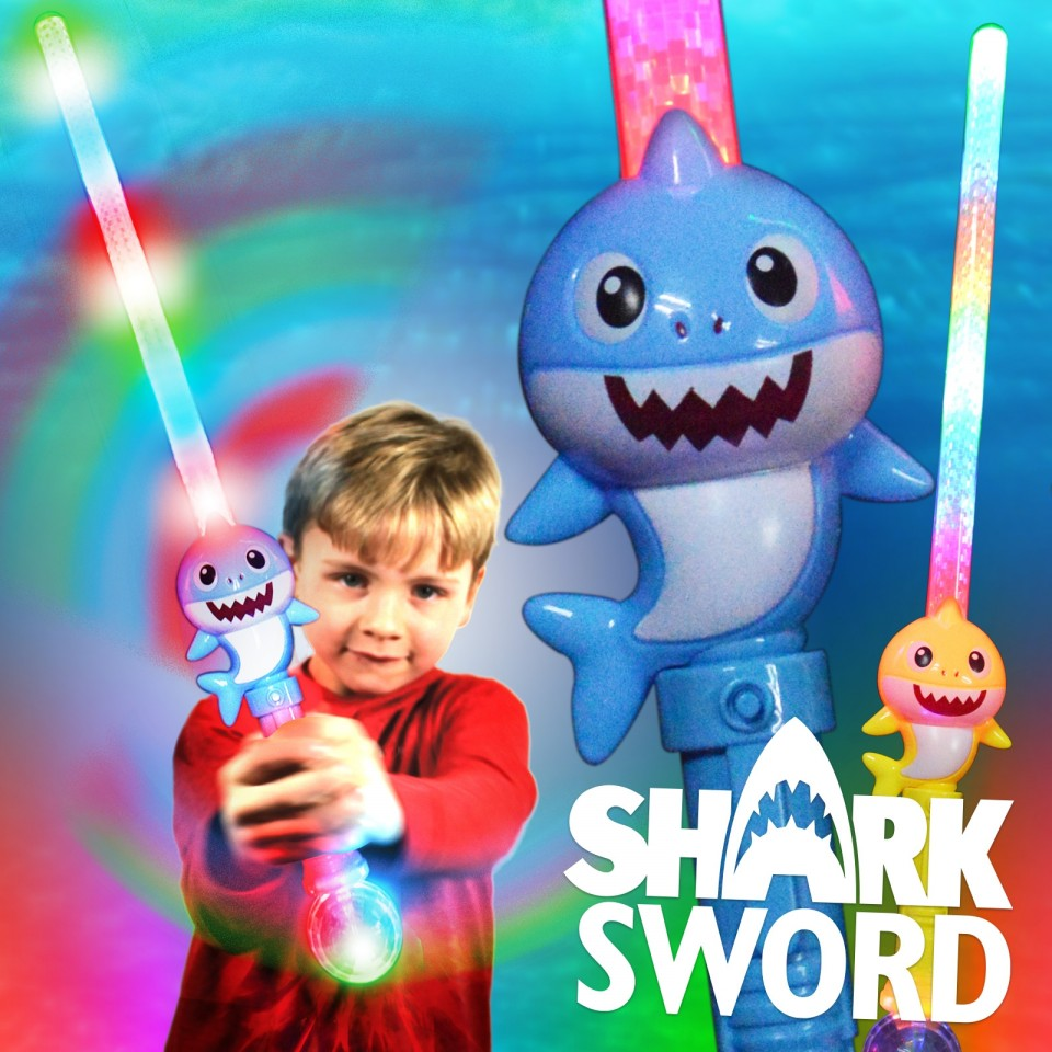 Light Up Shark Sword