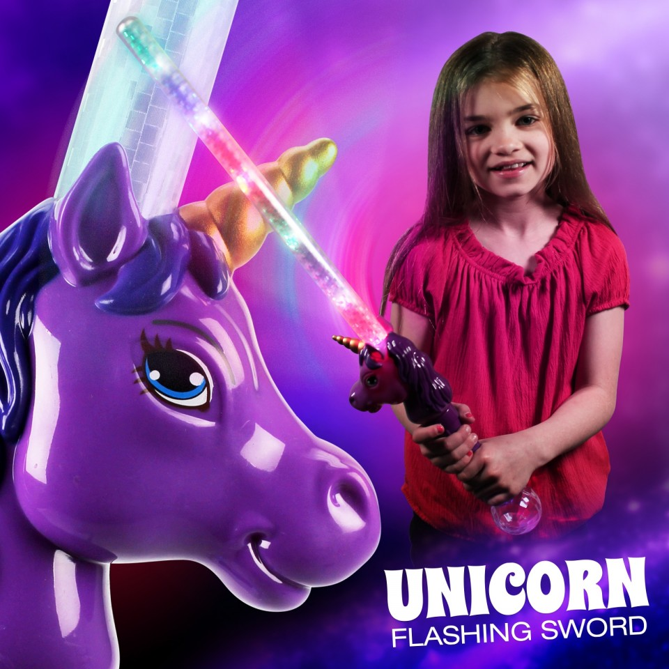 Light Up Unicorn Sword