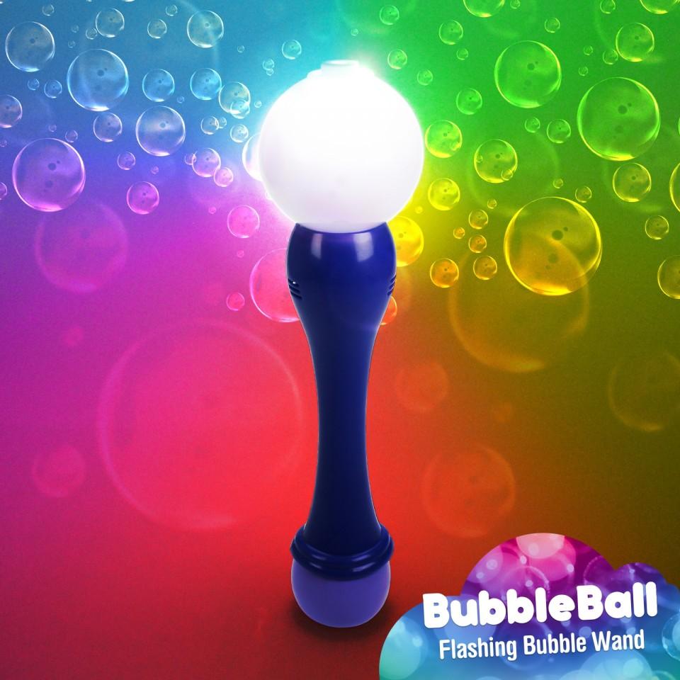 Light Up Bubble Ball Wand