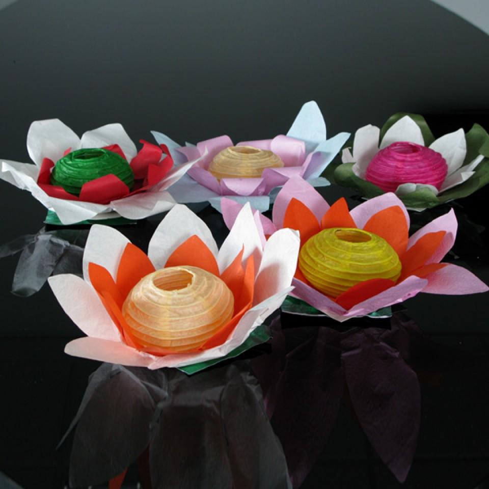 Floating Flower Water Lanterns