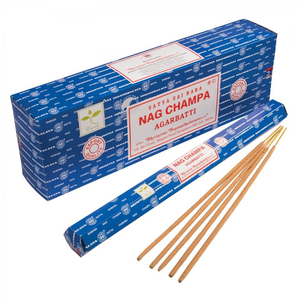 Garden Nag Champa Incense Sticks - 50g