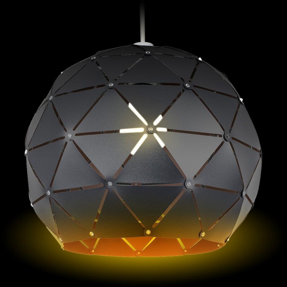 Geo Sphere Black Shade