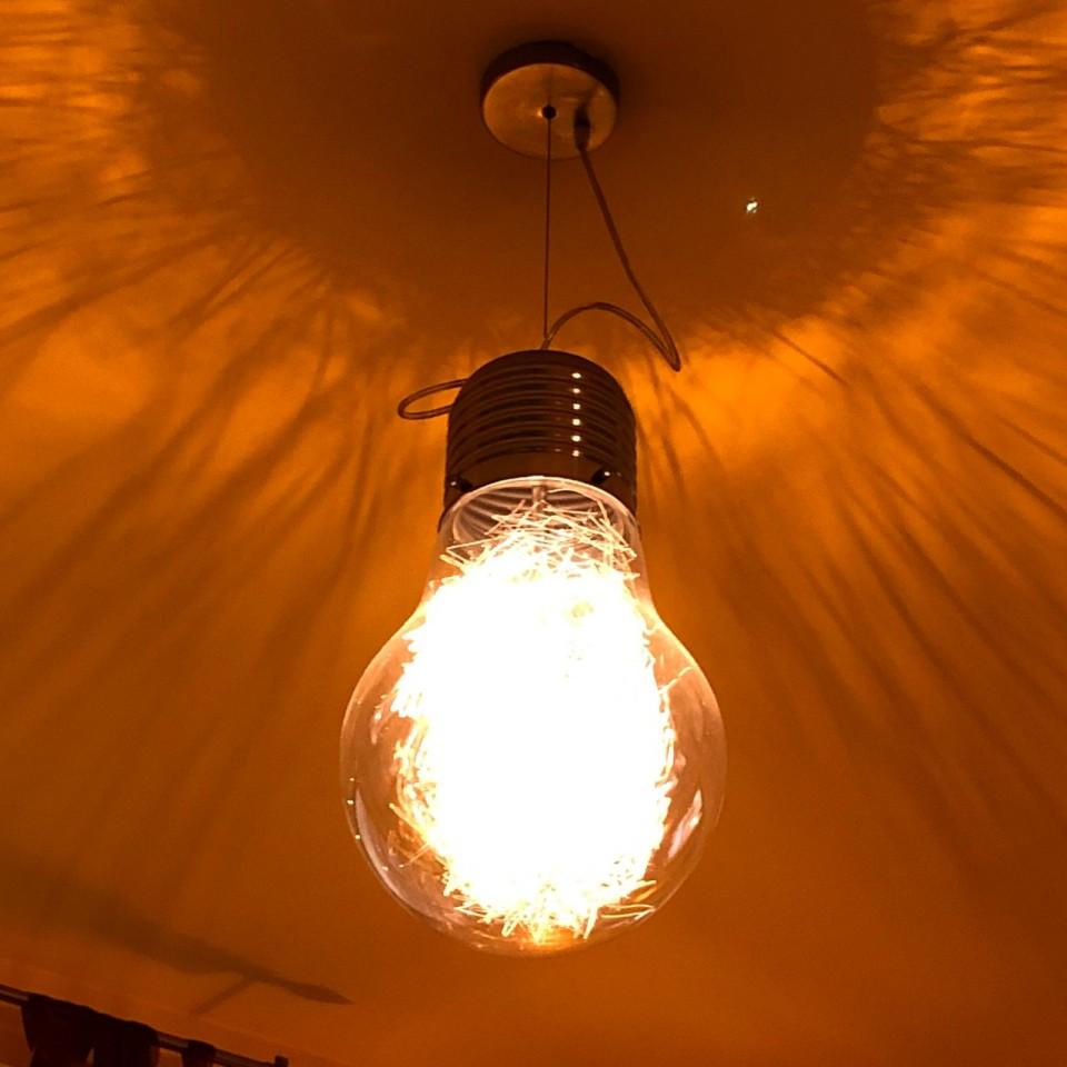 Giant Light Bulb Pendant