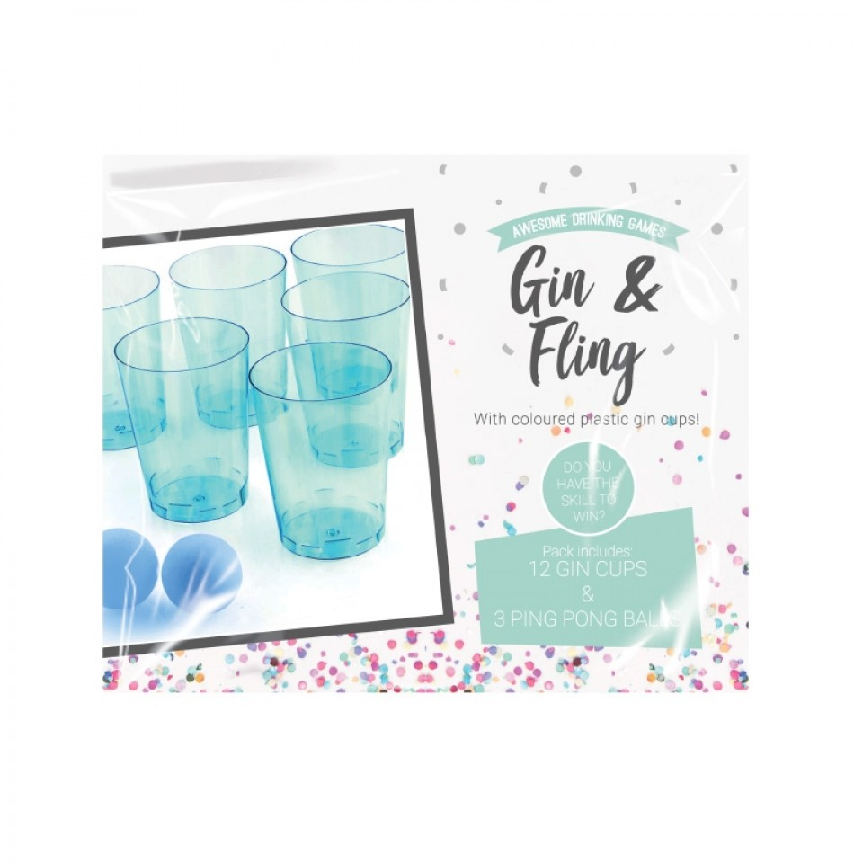 Gin & Fling Party Pong