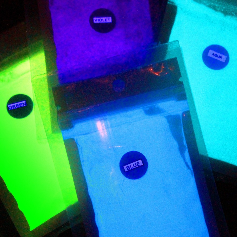 Glow in the Dark Photoluminescent Pigment
