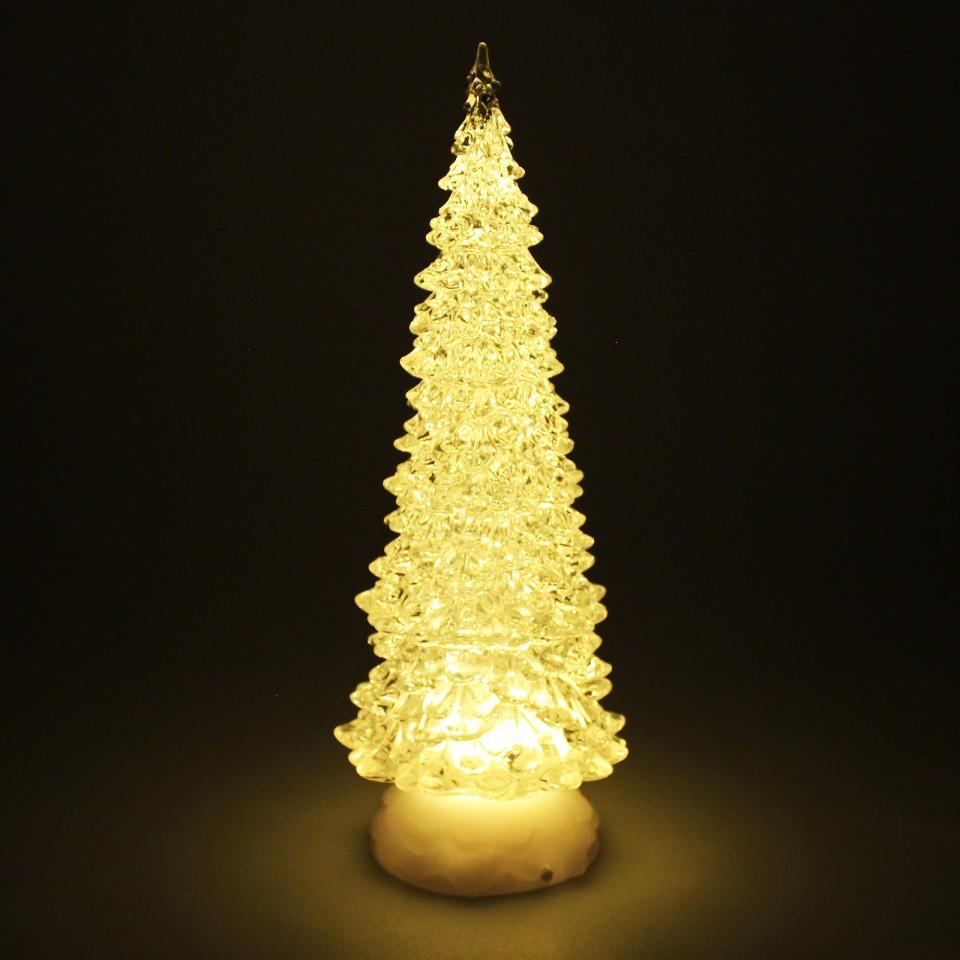 Glitter Water Spinner Christmas Tree