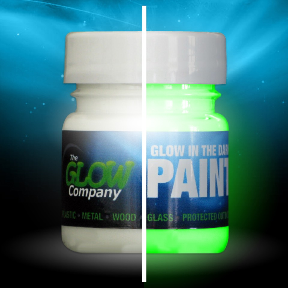 Green Glow in the Dark Paint 30ml